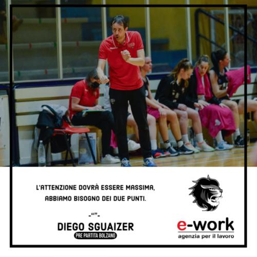 Faenza Basket Project E-Work - Pre-partita contro Sister  Bolzano