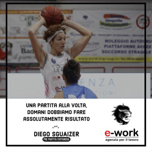 Il pre - partita di Feba Civitanova Marche  vs Faenza Basket Project E-Work
