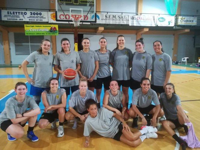 Nazareno Basket Carpi : Ripartano le Nazza Girls