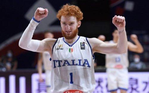 Nazionale A maschile - Tokyo 2020, Italia-Australia 83-86 (Fontecchio 22). Sacchetti