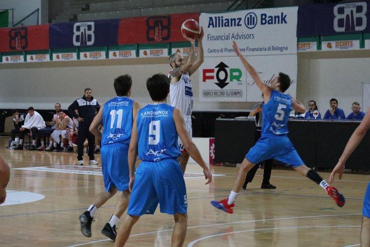 Bologna Basket 2016   vs Pol. Arena Montecchio E. 85 - 75