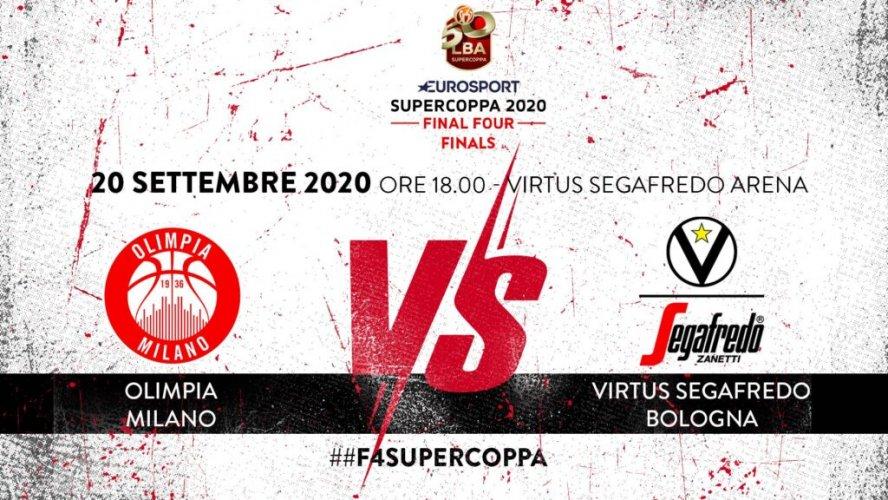 Eurosport Supercoppa 2020: in palio il primo trofeo della stagione!