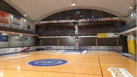 Sutor Basket Montegranaro: Le prime partite di campionato la Sutor Montegranaro le giocherà al palasport di P.S.Giorgio.