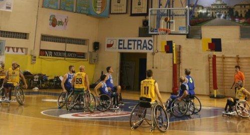 Basket in carrozzina : Laumas Elettronica Gioco Parma - NTS Riviera Basket Rimini 66-47