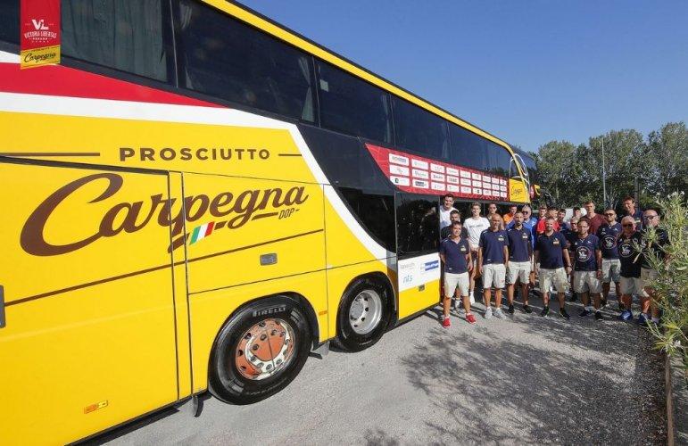 La Carpegna Prosciutto Basket Pesaro è partita per il ritiro di Borgo Pace!