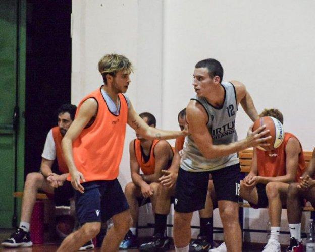 Amichevole Virtus Basket  Civitanova Marche   -  Falconara Basket