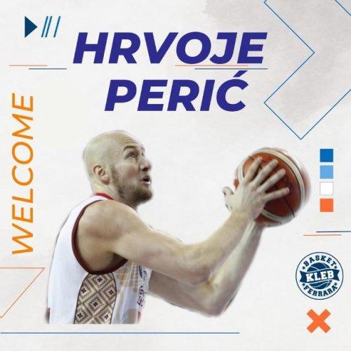 Kleb Basket Top Secret Ferrara , che colpaccio : Arriva Hrvoje  Perić.!!!