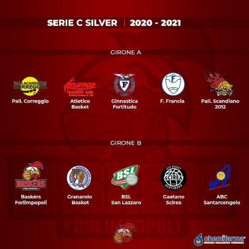 Baskèrs Forlimpopoli: Ufficializzati i Gironi di Serie C Silver