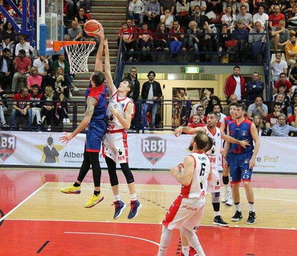 Finale C Gold gara 1 - Il Bologna basket 2016 cade a Rimini
