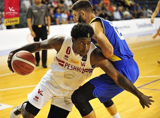 """La Carpegna Prosciutto Basket Pesaro conquista il 15° Memorial """"Alphonso Ford""""."""