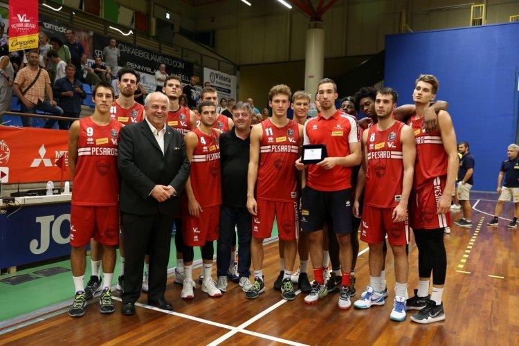 """La Carpegna Prosciutto Basket Pesaro conquista il secondo posto al Torneo """"Dukes"""" a Sansepolcro."""