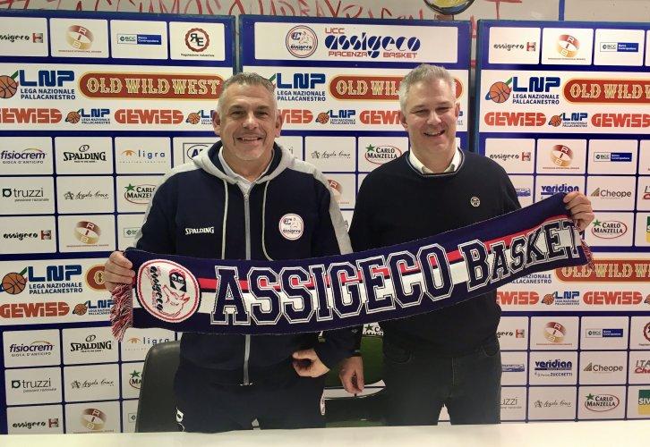 """Assigeco Piacenza : Coach Martelossi si presenta: """"Voglio essere un facilitatore per questi giocatori per aiutarli a esprimersi al meglio"""""""
