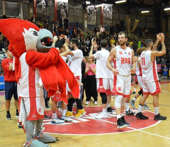 Rinascita basket Rimini vs Bologna basket 2016: 83-54