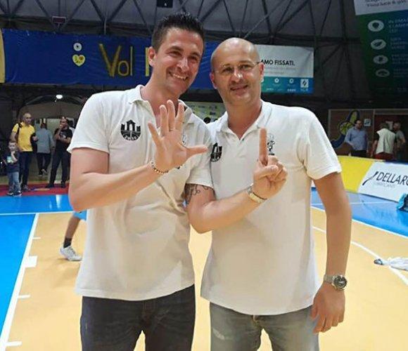 Coach Marco Regazzi ancora vincente!