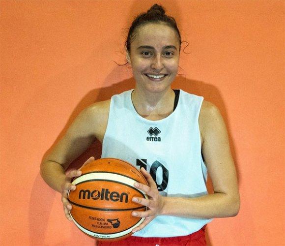 Gabriela Vlahova è una giocatrice di Rimini Happy Basket