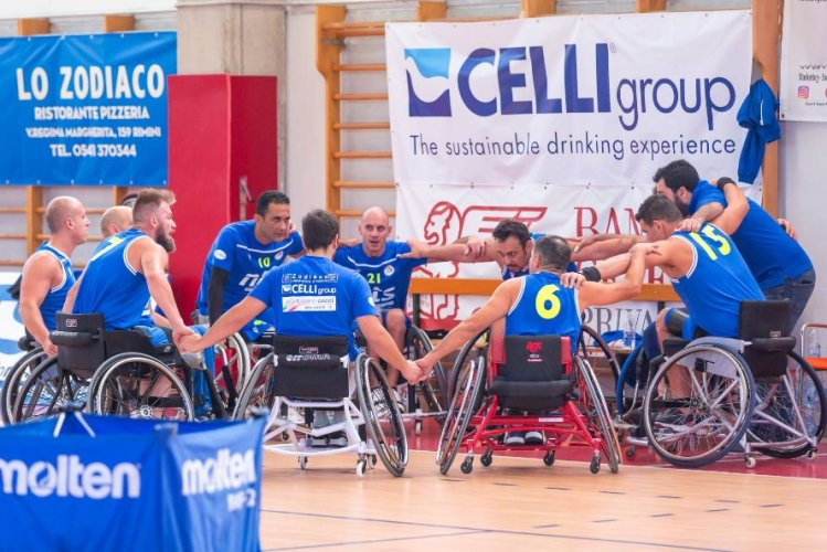 Riviera Basket Rimini - HP  Uicep Torino .