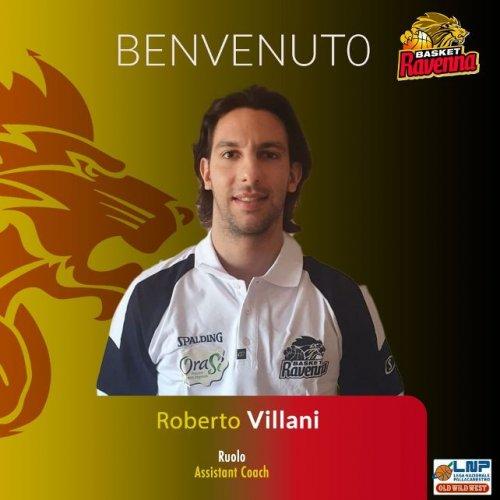 Basket Ravenna - Roberto Villani entra nello staff di coach Lotesoriere