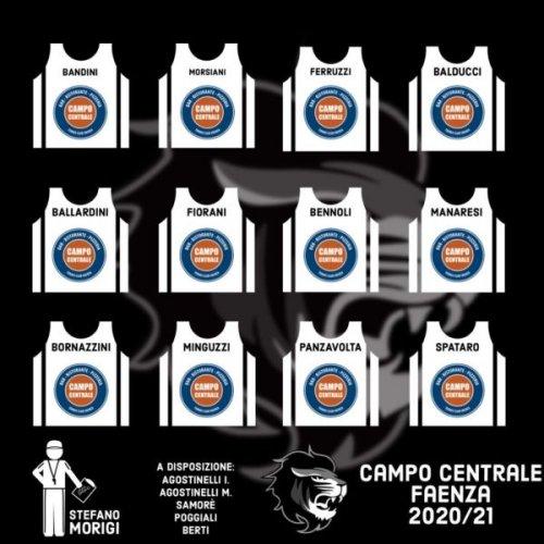 Faenza Basket Project : Roster confermato !