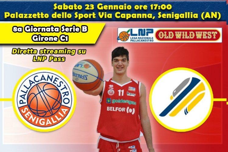 Basket, Serie B: vigilia di Pallacanestro  Senigallia – Cividale
