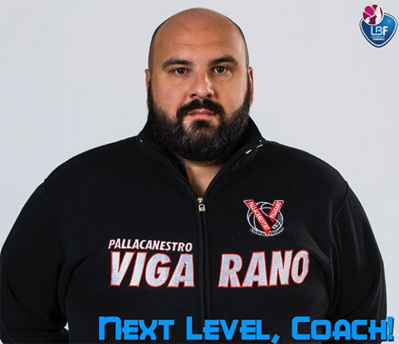 Marco Castaldi è il nuovo capo allenatore della  Meccanica Nova Vigarano Mainarda