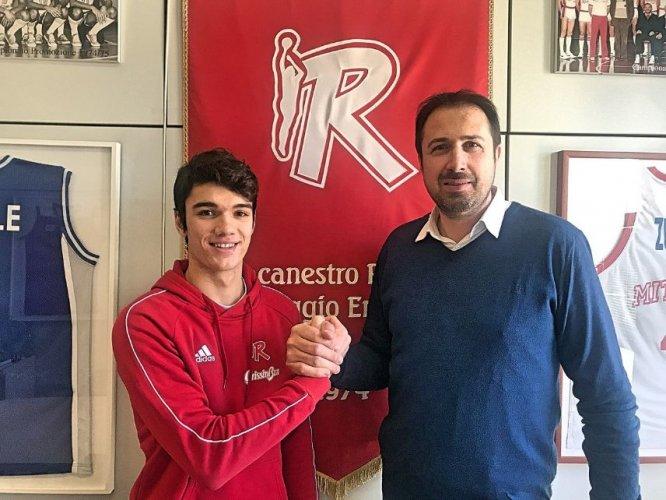 Pallacanestro Reggiana : Primo contratto professionistico per Jacopo Soviero