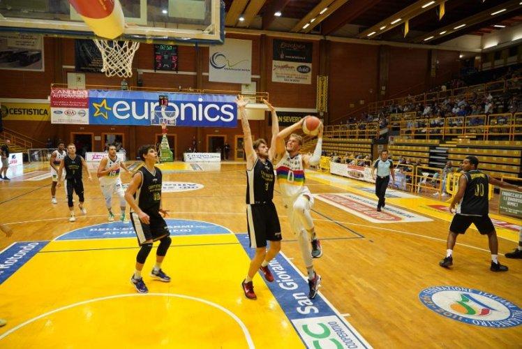Janus Basket Ristopro Fabriano a sprazzi . Sconfitta a San Severo