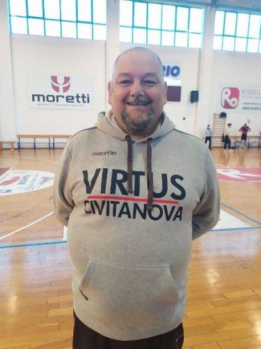 Virtus Basket Rossella Civitanova Marche : il nuovo coach è Stefano Foglietti