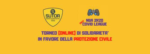 La Sutor Montegranaro entra nel mondo degli E- Sport per beneficenza : cercasi player