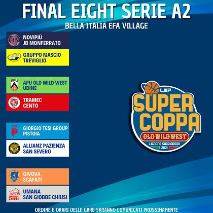 SuperCoppa LNP 2021 Old Wild West  Serie A2 - I risultati della terza giornata