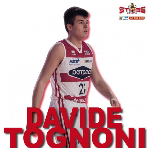 Davide Tognoni sarà un Stings Mantova anche nella prossima stagione !!!