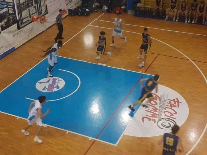 Vis 2008 Basket Ferrara - Under 18 Eccellenza - Sconfitta in volata contro Fidenza