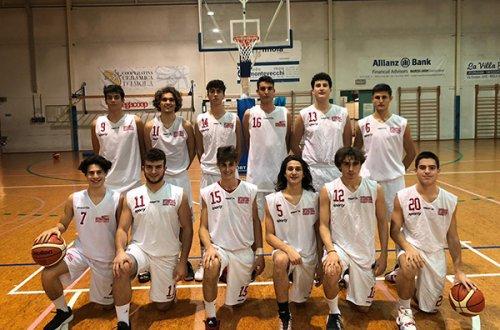 U18 Eccellenza: Studio Montevecchi Imola vs Fortitudo 103 Academy 59-98