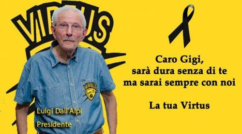 Virtus Imola: La commemorazione di Luigi Dall'Alpi in Consiglio Comunale