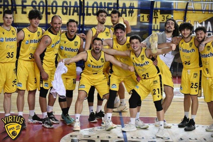 Pre - gara  Virtus Intech Imola - Ferrara Basket 2018