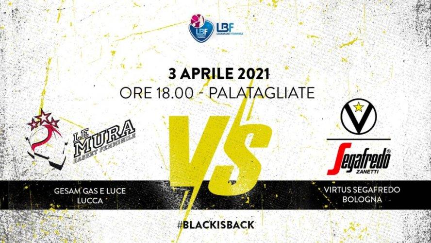 Virtus Segafredo Bologna - LBF, 25° giornata: il prepartita della sfida con Lucca