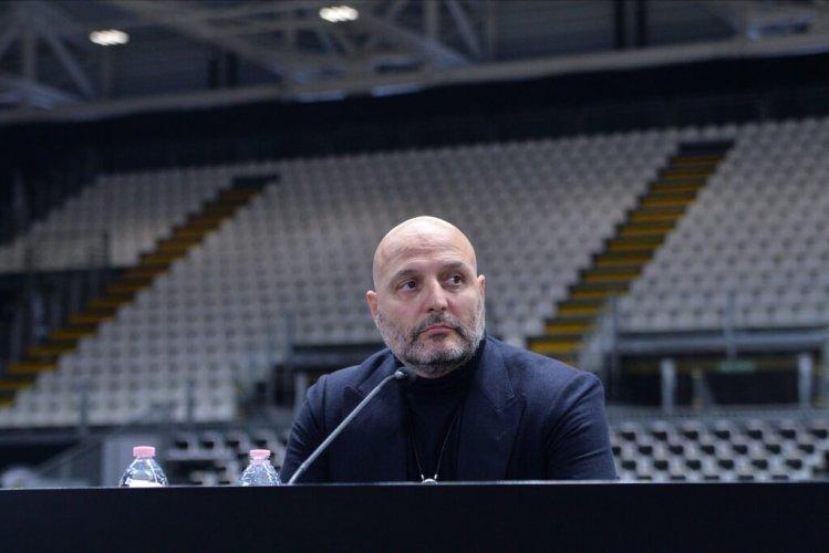 Coach Djordjevic parla del nuovo acquisto di Virtus Segafredo Bologna