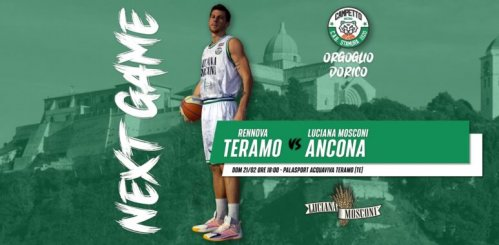 Game Note . Rennova Teramo vs Luciana Mosconi Ancona