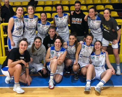 Siropack nuova Virtus Cesena  -  Basket Cavezzo    62-60