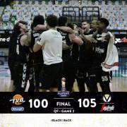 LBA, Quarti di Finale, Gara-3: De' Longhi Treviso vs Virtus Segafredo Bologna: 100 – 105
