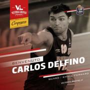 Carlos Delfino firma con la Carpegna Prosciutto Basket Pesaro