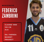 Federico Zambrini completa il roster della International Imola