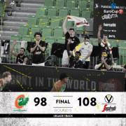 7DAYS Eurocup, Top 16, 5° giornata: Cedevita Olimpija Ljubljana vs Virtus Segafredo Bologna 98 - 108