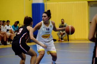 Linda Manzini e la Chemco Basket Puianello  ancora insieme