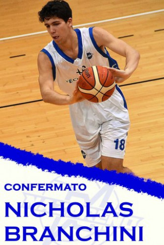 Polisportiva Nazareno Basket Carpi : Nicholas Branchini chiude le conferme della Stagione 2020 /2021 ‼️