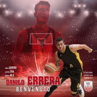 Andrea Costa Basket Imola : Si completa il reparto lunghi: ecco Danilo Errera