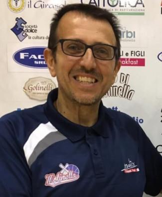 Pallacanestro Molinella : Ringraziamenti al Direttore Sportivo Francesco Serio per il grande lavoro che sta svolgendo