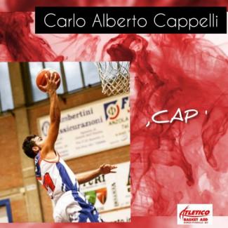 Volto nuovo per l' Atletico Borgo Basket ,  Carlo Alberto Cappelli