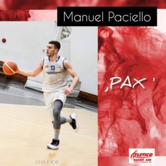 Atletico  Basket Borgo: new entry tesserato Manuel Paciello