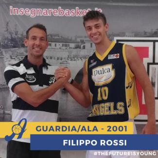 Dulca Angels Santarcangelo : Filippo Rossi - un nome nuovo in casa Angels