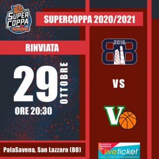 Bologna Basket 2016 : Rinviata la partita contro Virtus Basket Padova